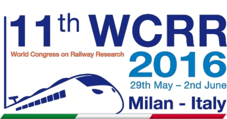 11th WORLD CONGRESS ON RAILWAY RESEARCH, ITALY, MILAN